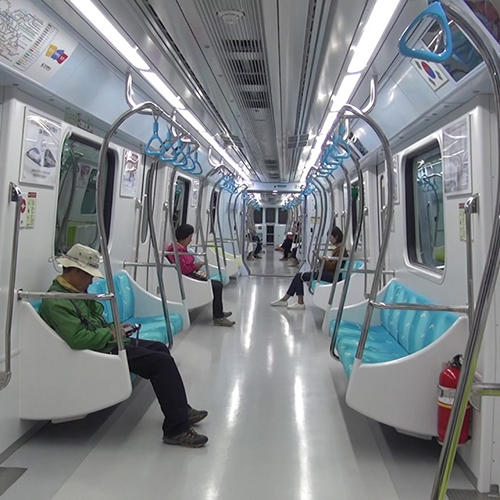 Incheon Metro Line 2, Incheon (Südkorea)