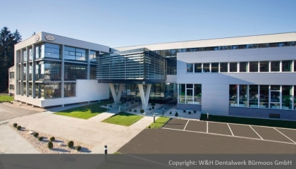 ​AQUASYS protects production halls of W&H Dentalwerk in Bürmoos  | © W&H Dentalwerk Bürmoos GmbH