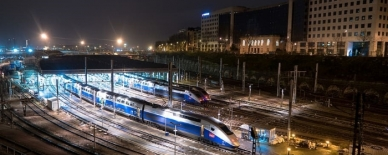 AQUASYS protects the high-speed trains between Paris and Milan