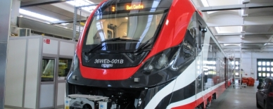 AQUASYS equips new NEWAG electric train units in Italy
